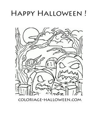 Coloriage Halloween Coloriages Halloween Gratuits Sur